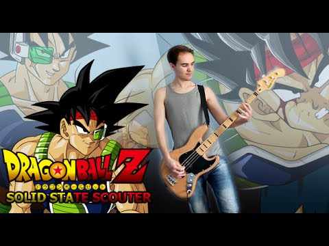 Dragon Ball Z - Bardock Theme Guitar Cover (Solid State Scouter)