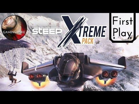 First Play: XTREME Pack DLC Playthrough (Gameplay Broadcast) - STEEP 1.10 [ps4 720p60]