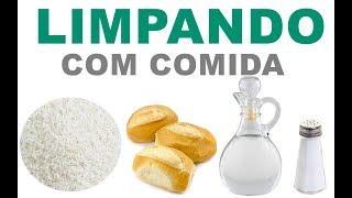 DICAS DE LIMPEZA COM INGREDIENTES COMESTÍVEIS – COMPILAÇÃO