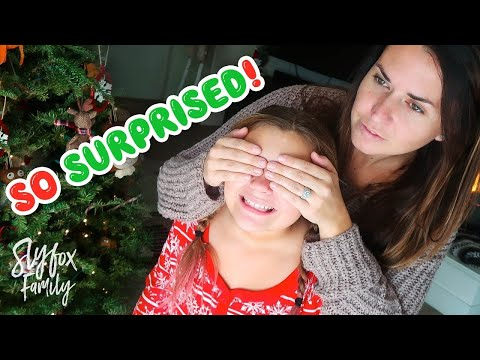 🎄❄️A CHRISTMAS EVE SHELL NEVER FORGET!!🎅🎁 Huge Early Christmas Eve Surprise!!  Slyfox Family