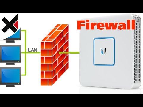 UniFi Firewall einstellen (VLAN Isolation, Security Gateway