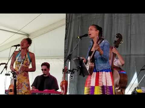 """Our Native Daughters """"At The Purchaser's Option""""  Rhiannon Giddens , Newport Folk Festival 7-28-2019"""