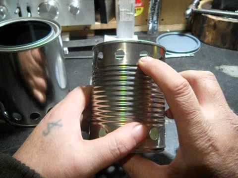 Paint Can Wood Gasifier : WOOD GAS STOVE ( Part 1 ) - YouTube