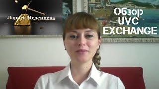 Обзор кабинета UVC  EXCHANGE – Международного поставщика финансовых услуг.
