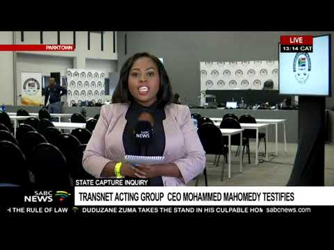 State Capture Inquiry | Transnet acting group CEO testifies