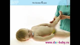 Массаж и гимнастика для ребенка 9- 12 месяцев месяцев