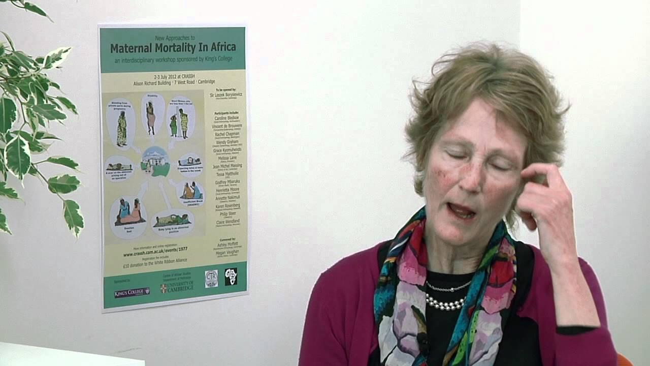 Ashley Moffett New Approaches to Maternal Mortality In Africa Ashley Moffett YouTube