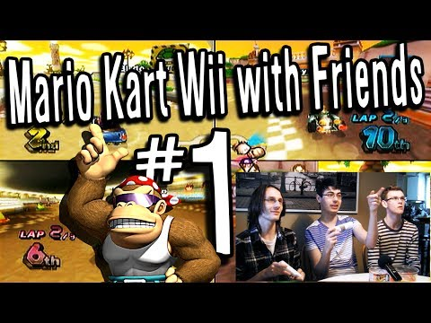 Mario Kart Wii: Funky Kong Rises - PART 1 - Games with Friends
