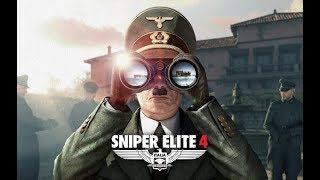 Story Mode - Authentic/Hard - Sniper Elite 4 - Part 1 First Playthrough - Story of an Elite Sniper