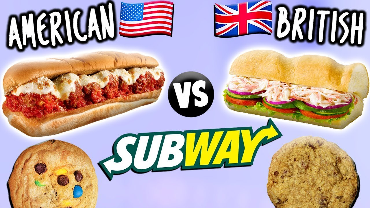 British Subway Food