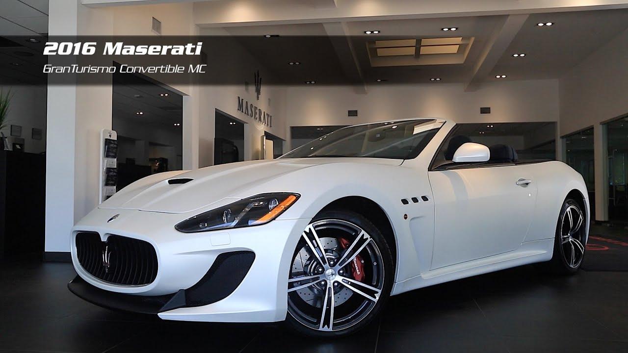 Home gt new maserati gt 2016 maserati gt convertible gt 2016 maserati gt - On The Lot 2016 Maserati Granturismo Convertible Mc For Sale At Maserati Auto Gallery Youtube