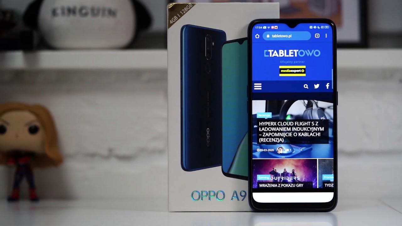 Oppo A9 2020 - recenzja ciekawego smartfona za 999 złotych