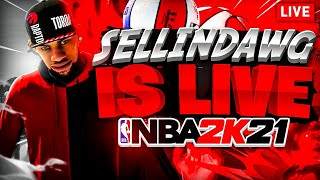 NBA 2K21 BEST GUARD GOING ON 100 GAME WIN STREAK BEST JUMPSHOT + DRIBBLE MOVES (CHILL VIBES)