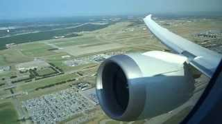 American 787-8 - Beautiful Morning takeoff from Dallas/Fort Worth (60fps)