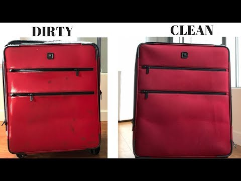 HOW TO | CLEAN YOUR LUGGAGE!!! VICTORINOX