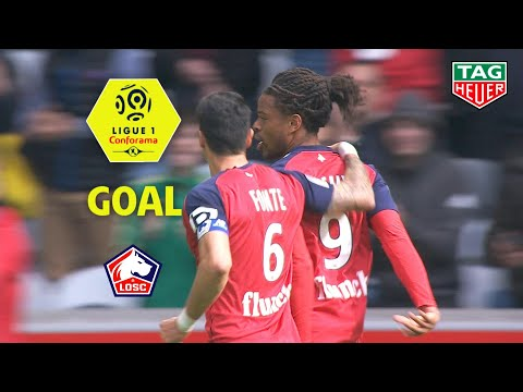 Goal Loïc REMY (27') / LOSC - Girondins de Bordeaux (1-0) (LOSC-GdB) / 2018-19