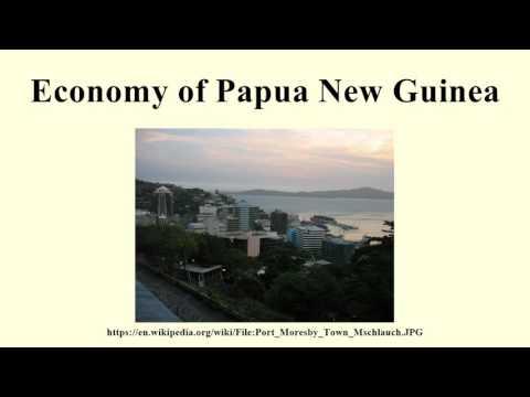 Economy of Papua New Guinea