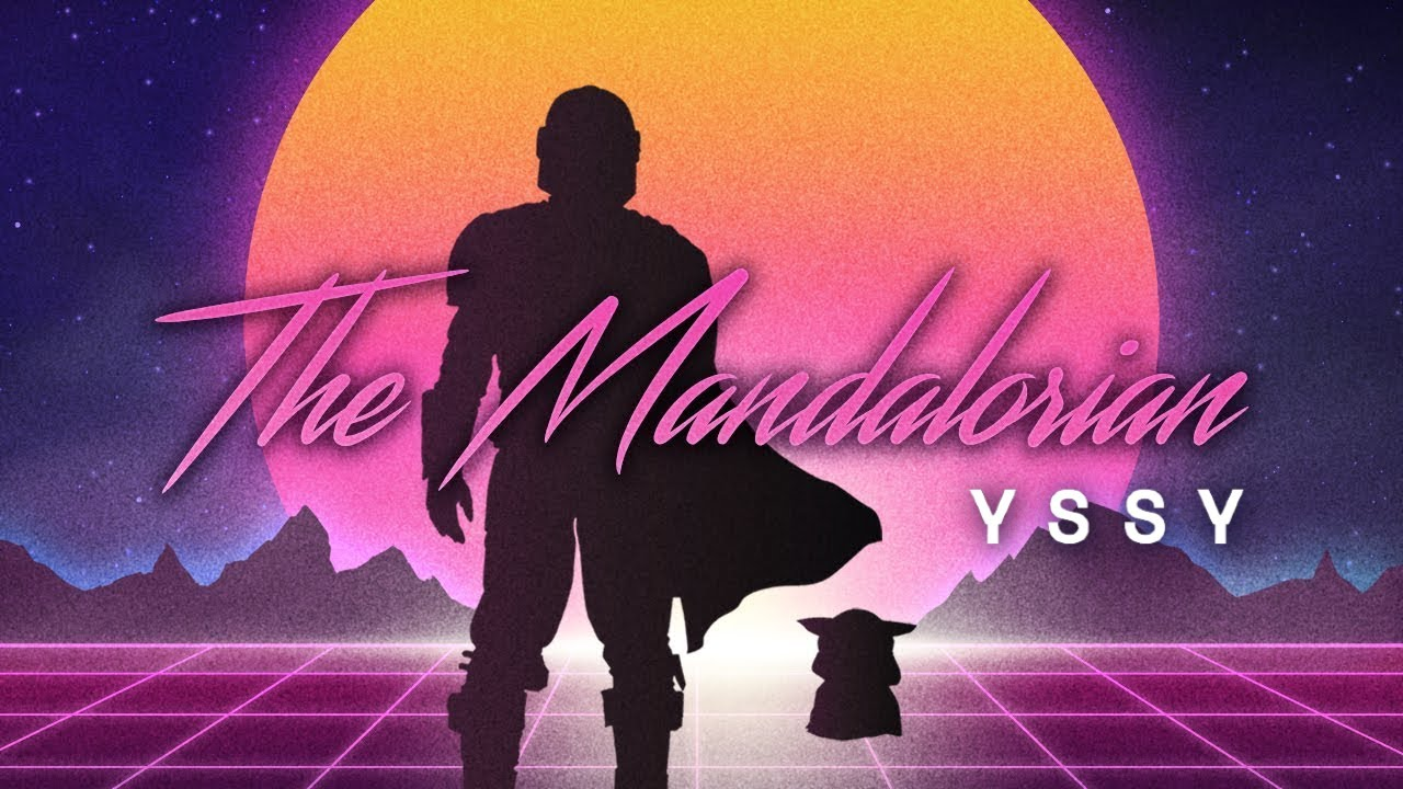 The Mandalorian - Main Theme Song (80s Retro Synth