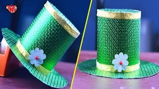How To Make A Beautiful Paper Top Hat Easy   DIY Paper Origami Top Hat