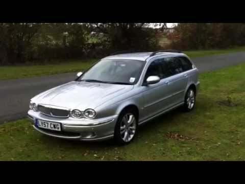 jaguar x type 2 5 v6 estate 4wd 2007 youtube. Black Bedroom Furniture Sets. Home Design Ideas
