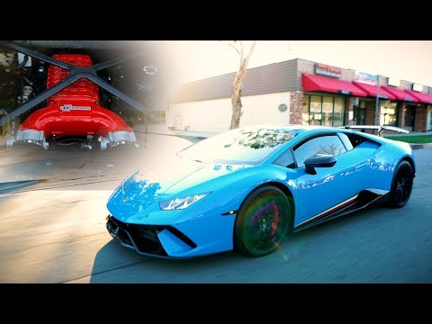 FIRST EVER SUPERCHARGED LAMBORGHINI HURACAN PERFOMANTE REVIEW