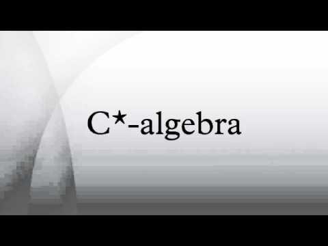 C*-algebra