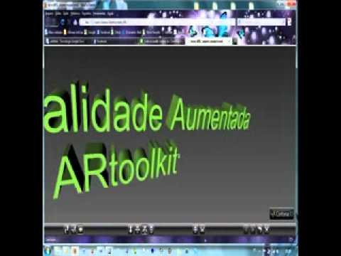 Realidade Aumentada com ARtoolkit