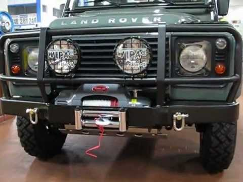Land Rover Defender 110 Td4 Pick Up Limited Edition Rough