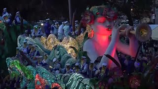 RAW VIDEO: Krewe of Endymion parade in which 1 person died