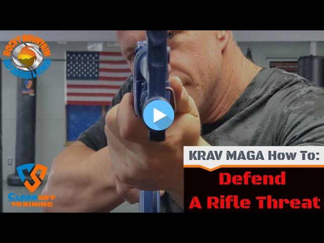 Long Gun Dead Side| Clearsky & RMSDF Instructional Krav Maga Rifle Disarm
