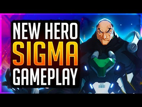 🔴Overwatch Rank #1 Peak SIGMA ABILITIES AND GAMEPLAY LATER TODAY! PTR Role Queue Ranked