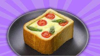 Пицца-фондю в хлебе: Идеальный рецепт для весеннего ужина.