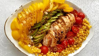 Salată Curcubeu pe cerul gurii!Салат Радуга!