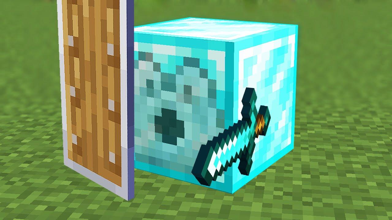 Download Beating Minecraft but I'm a Dispenser