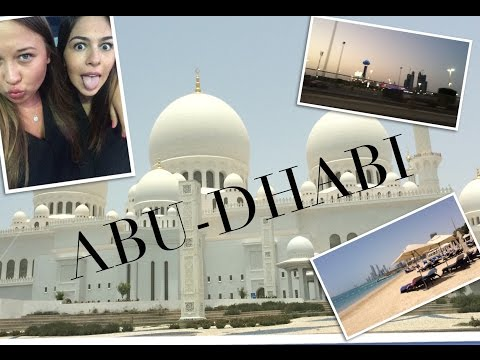 VLOG ABU-DHABI // АБУ-ДАБИ,  два дня с подругой