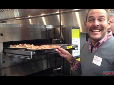 Pizza Hut Kitchen Tour kitchen tour of donatos pizza in owensboro, kentucky - youtube