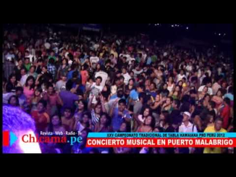 Concierto Musical en Puerto Malabrigo   Campeonato de Tabla Hawaiana 2012