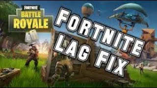 Fortnite completely without lag!