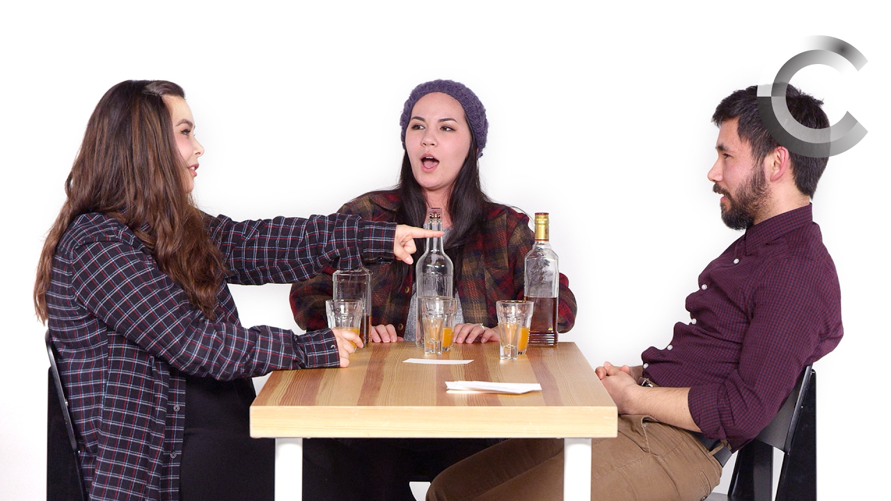Siblings Play Truth or Drink (Rachele, Caley, & Christopher) | Truth or Drink | Cut