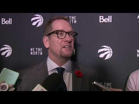 Nick Nurse - Post-Game Interview - Toronto Raptors vs Utah Jazz - November 5, 2018