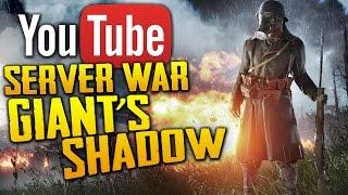 Battlefield 1: Battle of Giant's Shadow | SUBSCRIBER SERVER WAR LIVE STREAM