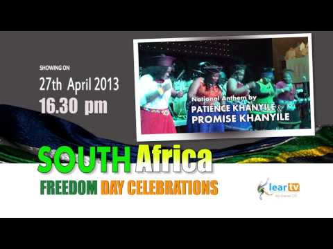 South Africa Freedom Day Celebrations Promo 2013