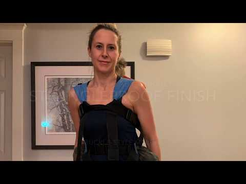 Strangleproof finish in an Integra baby carrier