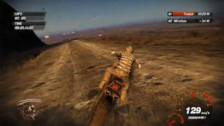 FUEL - Motocross Drifting Gameplay - Big Cleave WILD TRACK [HD]