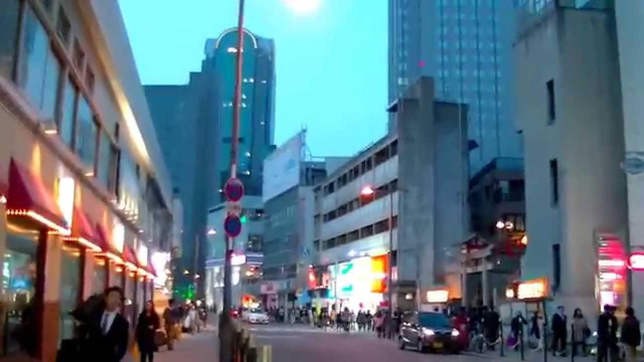 2017 大阪自由行 - 梅田地鐵站「新阪急酒店」步行往「太陽道酒店 ...