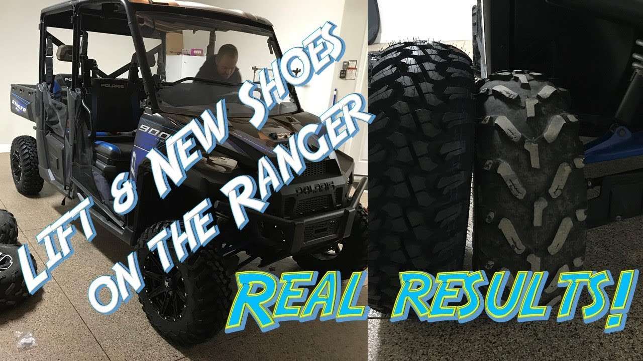 Polaris Ranger Lift, and Tire upgrade - Real Difference