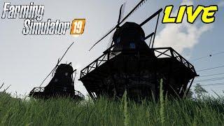 FARMING SIMULATOR 19 #165 LIVE - IL MULINO POSIZIONABILE - GAMEPLAY ITA