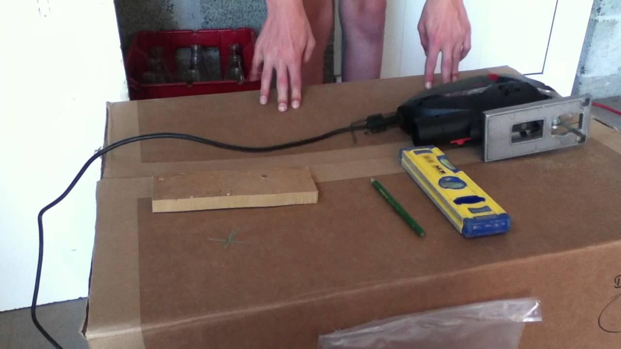 Couper une planche scie sauteuse youtube - Couper carrelage scie sauteuse ...
