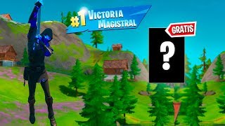 *GRATIS* TE REGALAN ESTO SI GANAS EN FORTNITE: Capitulo 2 - Battle Royale