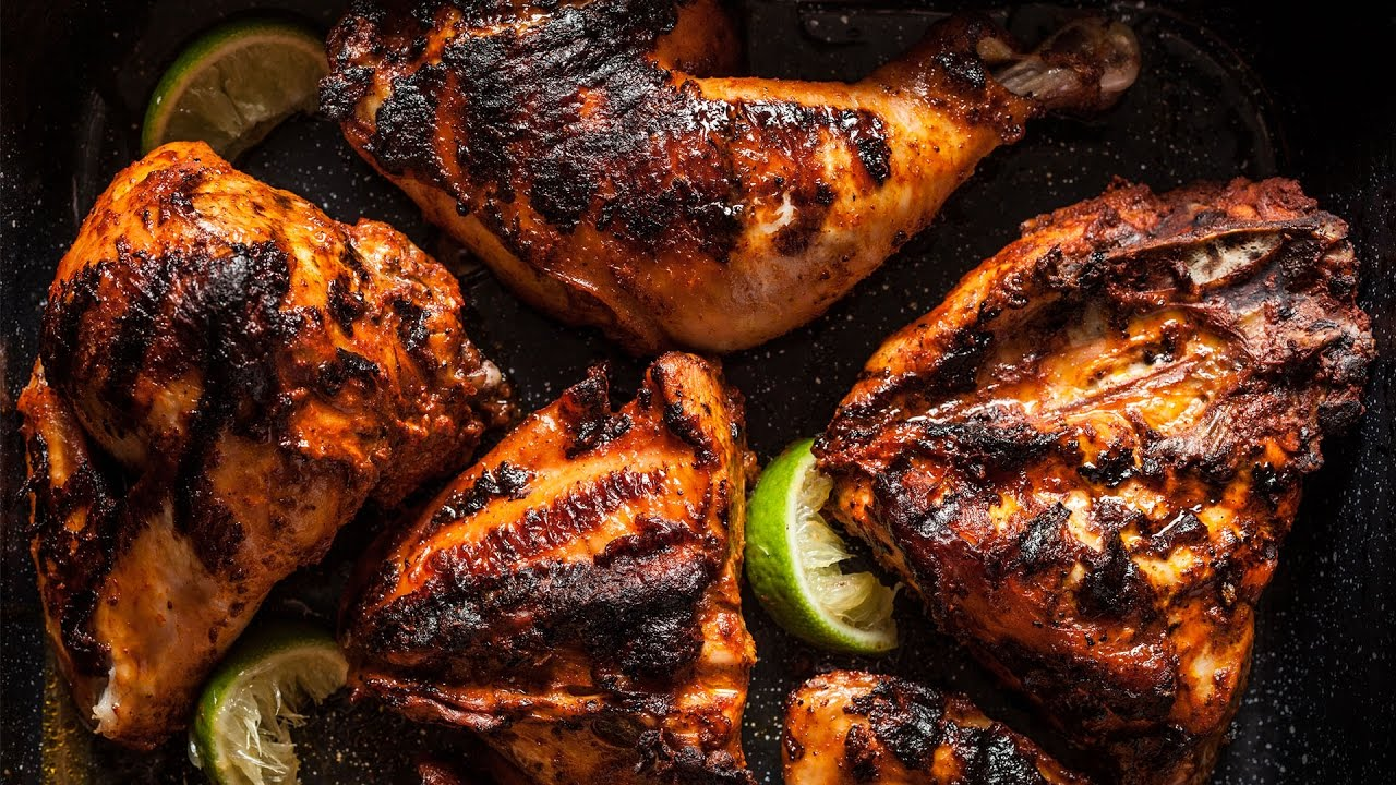 Chicken Barbecue Easy Basic Bbq Grilled Chicken Country Foods Youtube